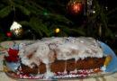 Английский рождественский кекс с сухофруктами, вымоченными в коньяке, роме или бренди